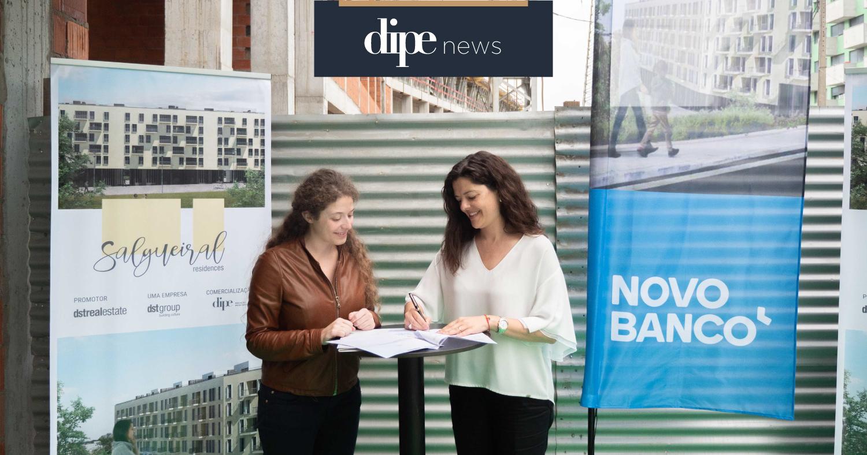 DST Real Estate e Novo Banco assinam protocolo para crédito à habitação no SALGUEIRAL RESIDENCES em Guimarães